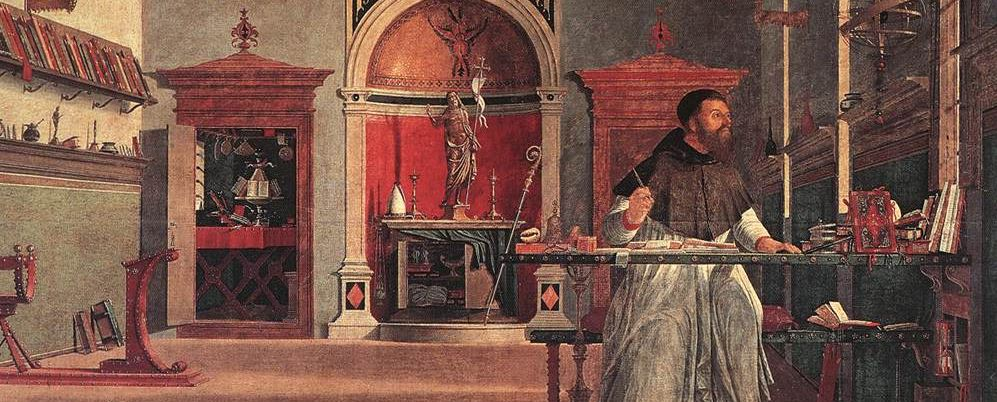 Carpaccio, La Vision de Saint Augustin, Scuola di San Giorgio degli Schiavoni, Venise, 1502
